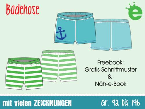 Näh-Freebook: Badehose für Jungs