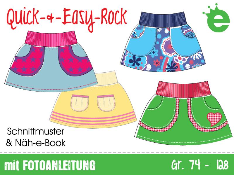 Quick Easy Rock Gr 74 128 Erbsenprinzessin Shop