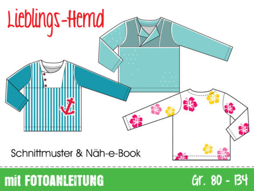 lieblingshemd-kinderhemd bluse schnittmuster