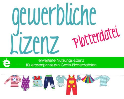 gewerbliche Lizenz für erbsenprinzessin Gratis-Plotterdatei