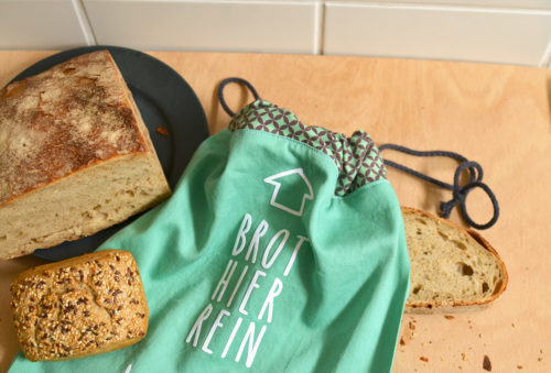 Brotbeutel nachhaltig Nähen Workshop