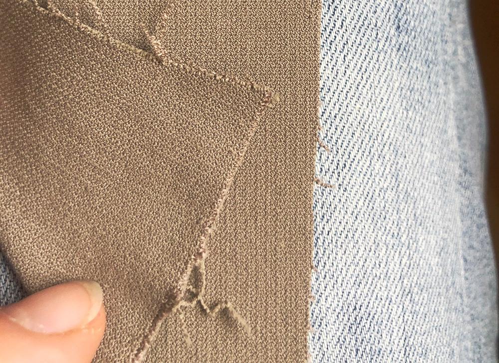 Vergleich jeans reithosenstoff