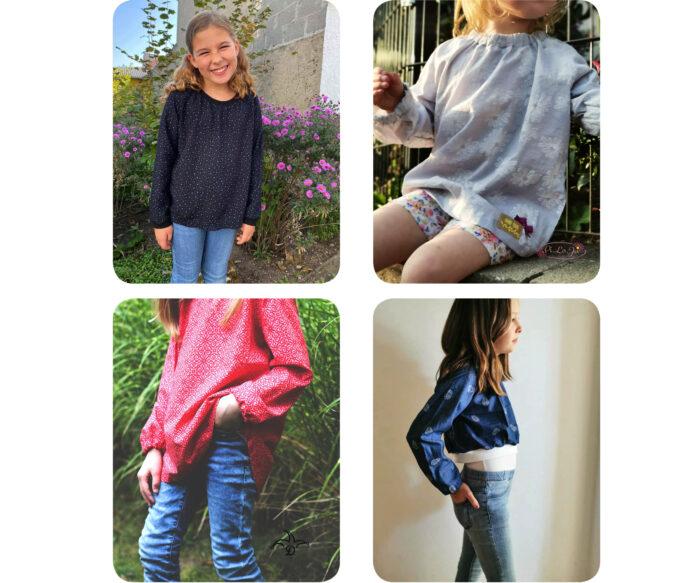 Raglanbluse: Designbeispiele zum Mädchen Näh ebook