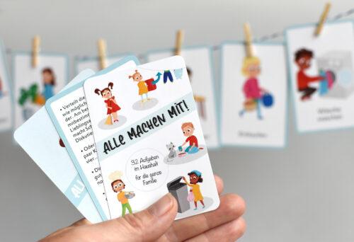 Karten set alle machen mit